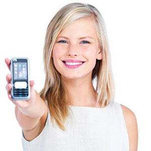 bella ragazza bionda numero di cellulare