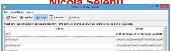bitcoinqt ricevere denaro indirizzo bitcoin indirizzi bitcoin installare bitcoin-qt configurazione