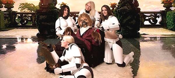 chewbacca hugh hefner
