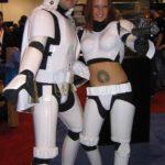 costume di carnevale guerre stellari maschera stormtrooper cosplay star wars starwars elvis sexy storm trooper