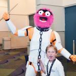 costume di carnevale guerre stellari maschera stormtrooper cosplay star wars starwars gonzo muppets