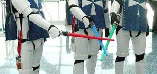 costume di carnevale guerre stellari maschera stormtrooper cosplay star wars starwars tre moschettieri dartagnan d'artagnan