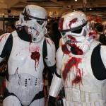 costume di carnevale guerre stellari maschera stormtrooper cosplay star wars starwars zombi zombie zombies