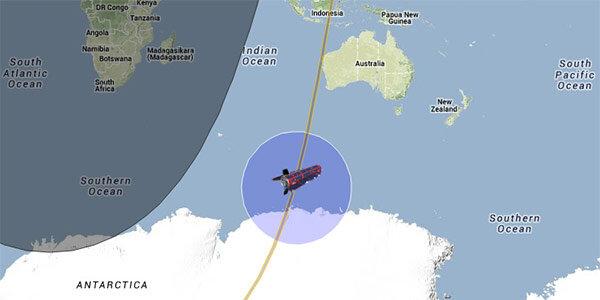 dove è caduto il satellite goce agenzia spaziale europea rottami spaziali