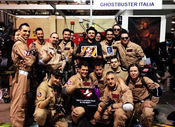 Ghostbusters Italia foto di gruppo
