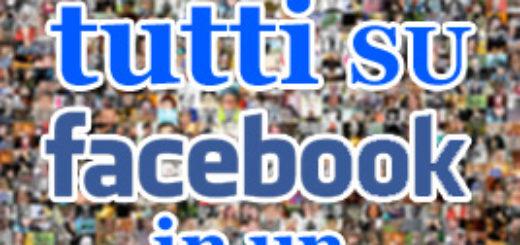 invita tutti su facebook