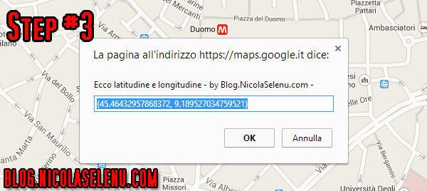 latitudine longitudine google maps coordinate mappe coordinata mappa google tutorial guida