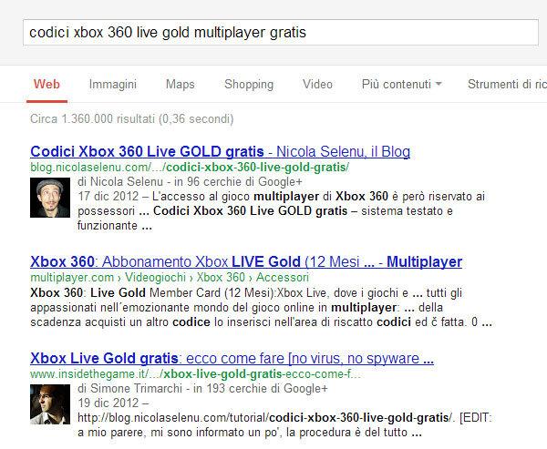 risolvere problema google authorship faccia autore risultati ricerca seo nicola selenu blog