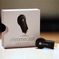 scatola google chromecast